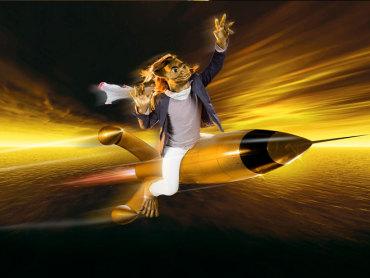 rocket riding